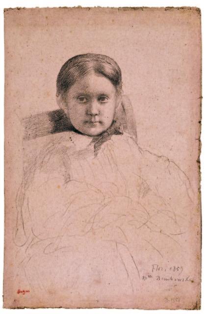 Edgar Degas, 'Mlle Dembrowska.' (Courtesy of Petaluma Arts Center)