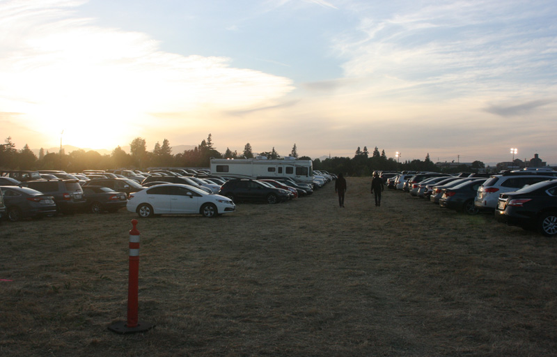 The parking lot at BottleRock 2015. (Photo: Gabe Meline)