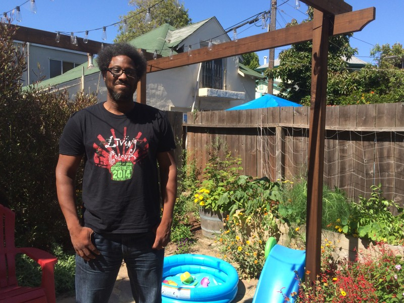 Comedian W Kamau Bell at home in Berkeley.