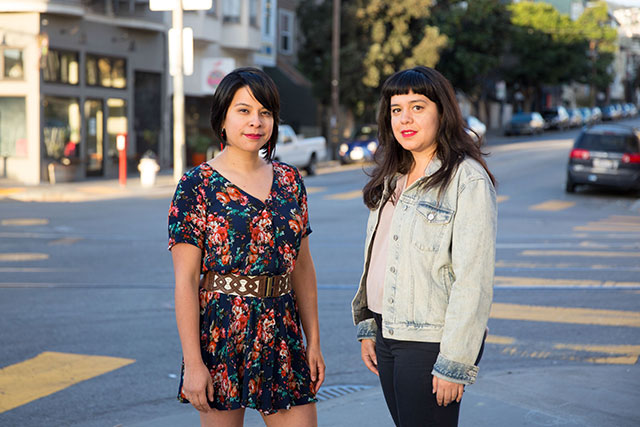 Cristina Mitra and Natalia Vigil of <i>Still Here</i>. (Photo by Lydia Daniller)