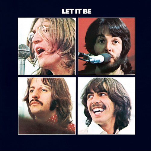 The album cover for Let it Be by The Beatles, courtesy thebeatles.com