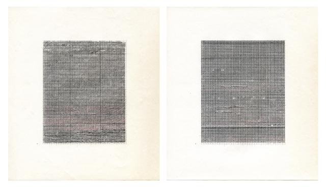 Ajit Chauhan, M.U. (diptych), 2014. (Courtesy of Minnesota Street Project)