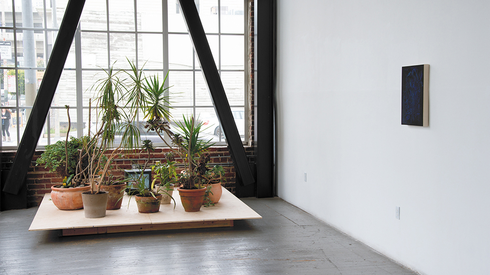 Installation view of Doubled, 2015. (Courtesy of Gallery 16)