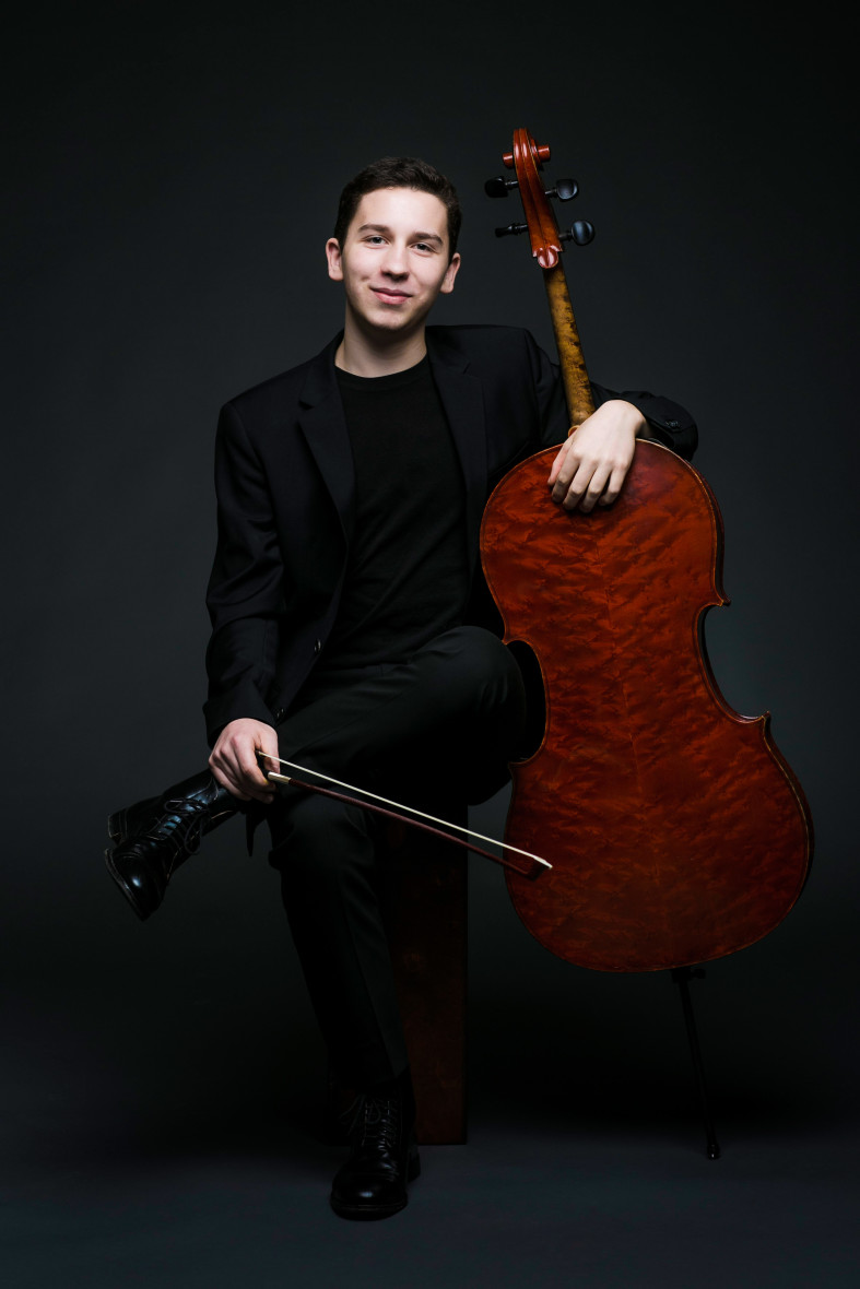 Oliver Herbert, one of eight Klein Competition semi-finalists this year