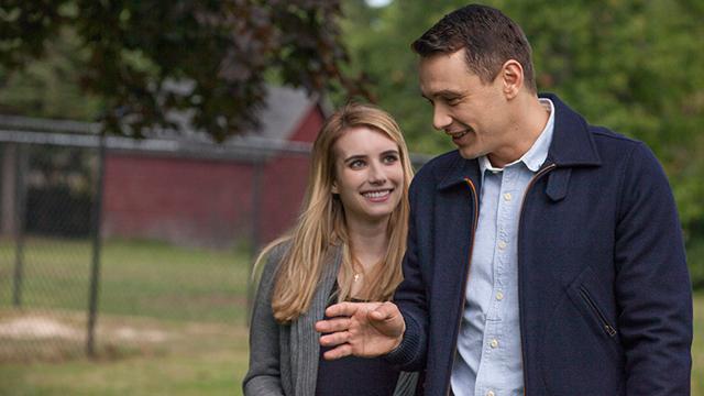 Emma Roberts and James Franco in <i>I Am Michael</i>. (Courtesy of Sundance)
