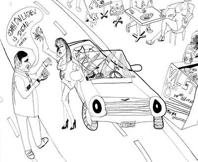 Alia Shawkat, 'bin laden.' (Courtesy of the artist)