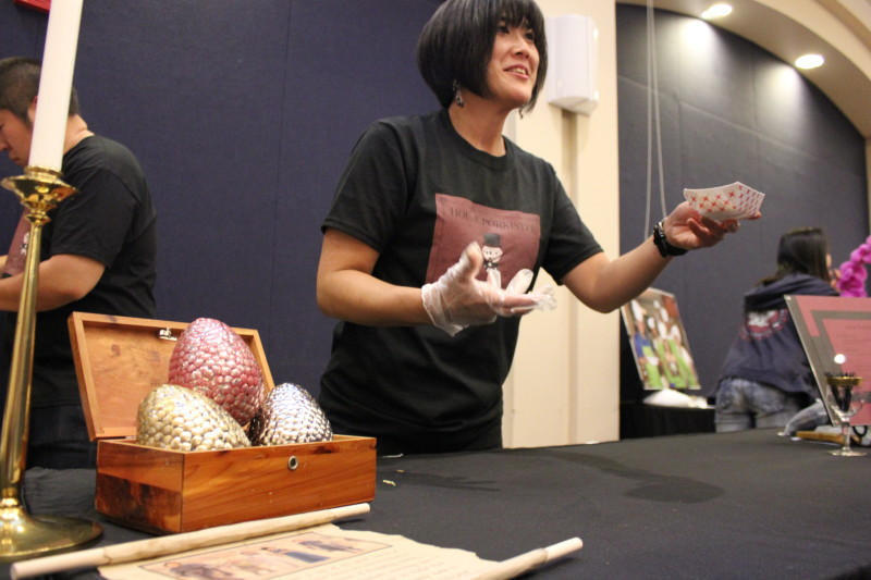 House of Porkister showed off some dragon eggs with their dumplings.