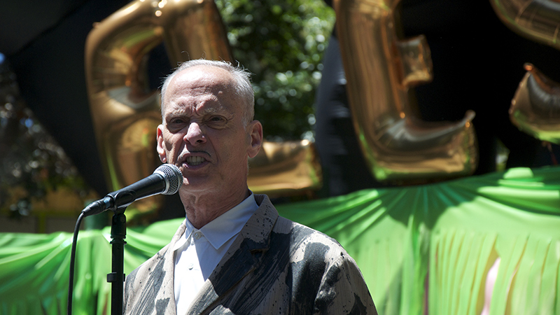 Burger Boogaloo was hosted by cultural icon and filmmaker John Waters.