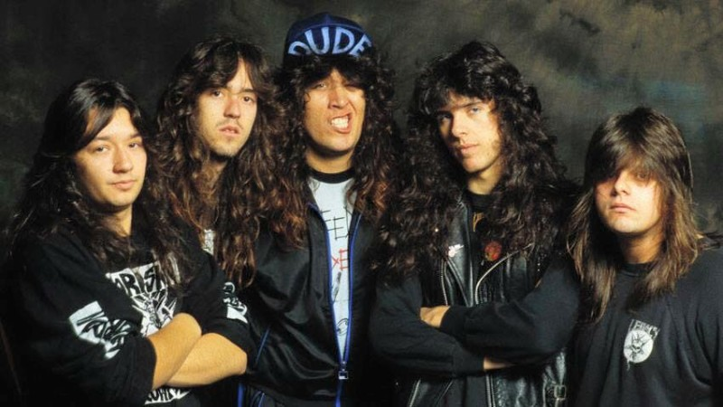 Testament back in the day. (Courtesy of Testament's Facebook Page)