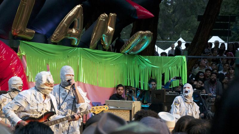 Garage punk band The Mummies headlined the July 4 lineup at Burger Boogaloo.