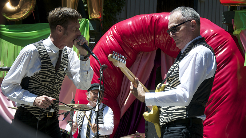 Sacramento-based garage band The Trouble Makers.
