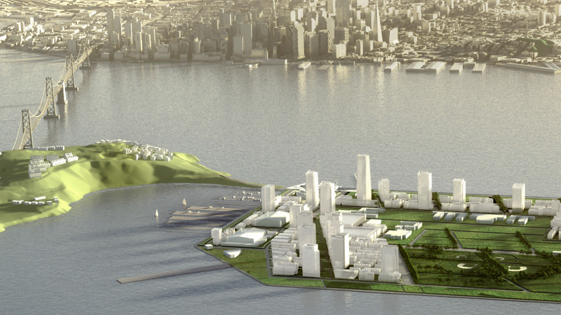 Rendering from 'Treasure Island and Yerba Buena Island Design for Development' (Photo: Treasure Island Development Authority)