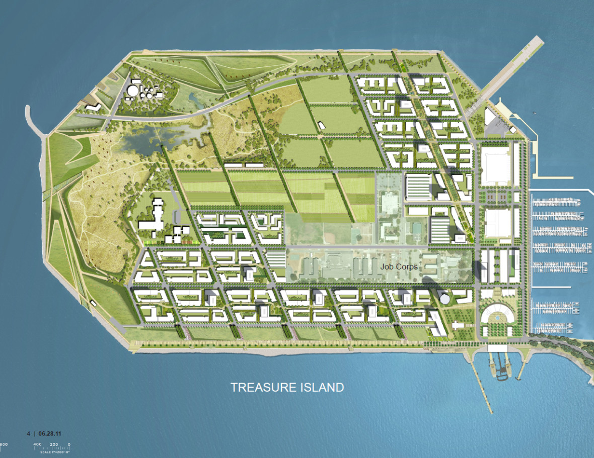 Overview from 'Treasure Island and Yerba Buena Island Design for Development' (Photo: TIDA)