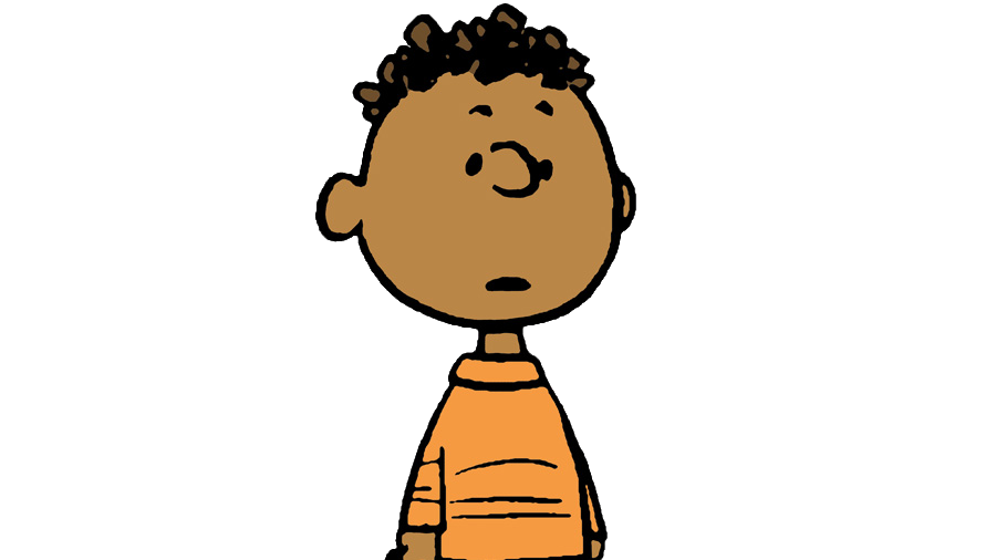 Franklin from the 'Peanuts' comic strip