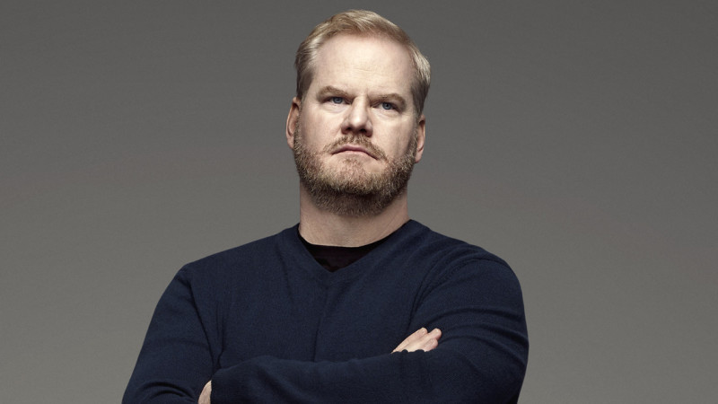 """Jim Gaffigan spent years in stand-up before, finally, someone took a chance on him: that someone just happened to be David Letterman. """"The weird thing is, because Letterman thought I was good, everyone changed their mind,"""" he says. """"It changed the narrative surrounding me, completely."""" (Courtesy of TV Land)"""