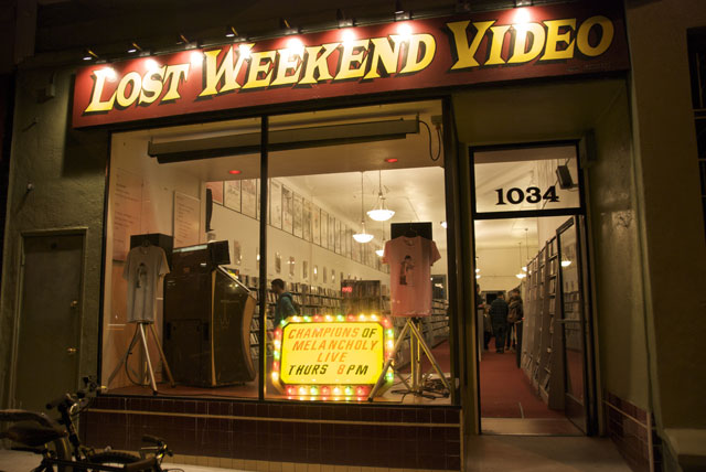 Lost Weekend video in the heart of SF's Mission district