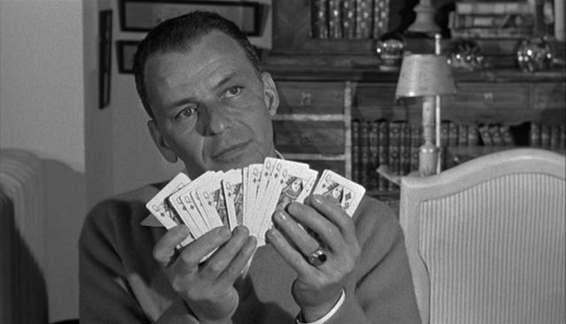 Frank Sinatra in 'The Manchurian Candidate.'