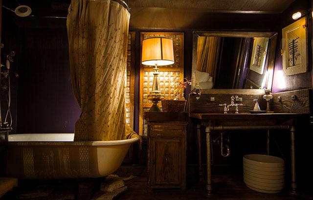 Viracocha's famous bathroom.