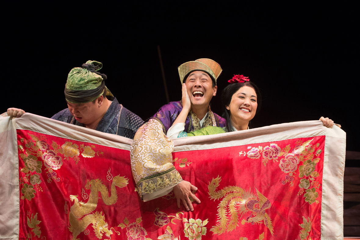 A scene from 'Secret Love in Peach Blossom Land.' (Photo: Jenny Graham/Oregon Shakespeare Festival)