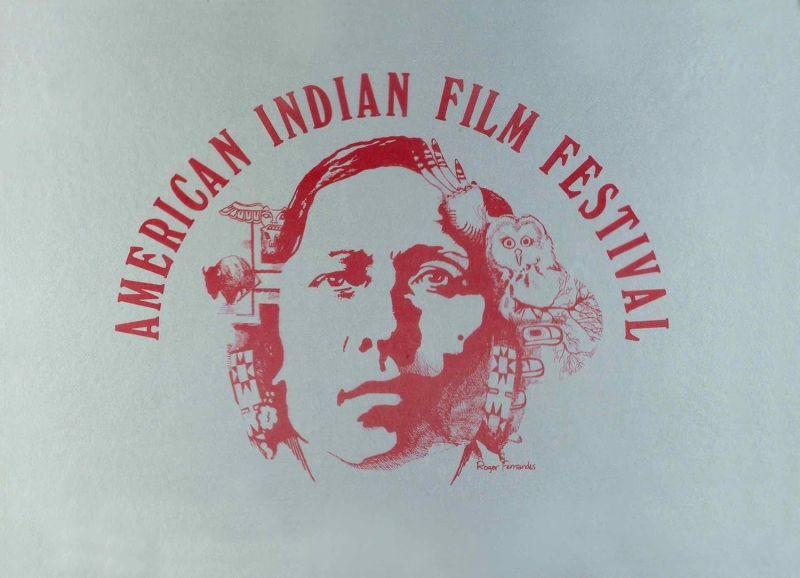 American Indian Film Festival poster from 1975 (Roger Fernandes)