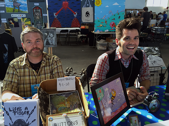 APE vendors Michael Foley and Donbon
