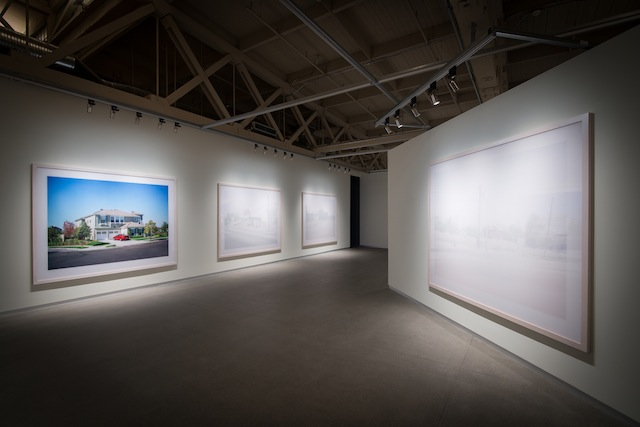 Paul Graham, Installation view of 'The Whiteness of the Whale,' 2015. (Photo: Pier 24 Photography, San Francisco)