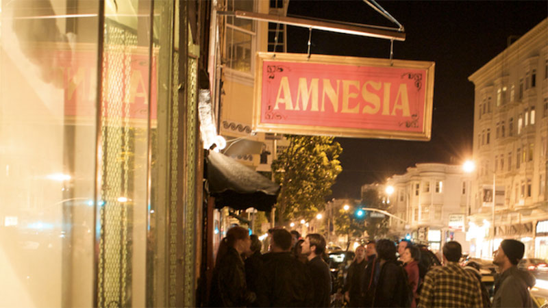 Amnesia is the Latest San Francisco Music Venue to Close