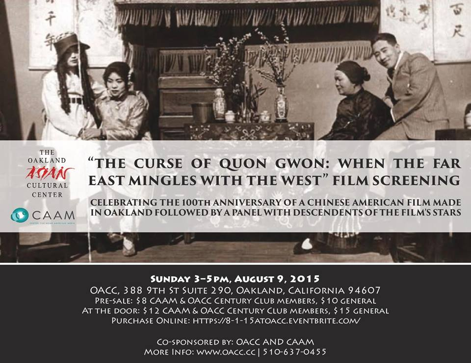 "Screening of ""The Curse of Quon Gwon"""