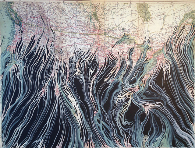 Mark Garrett, 'Overview,' 2015. (Photo: the artist)