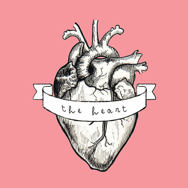 Logo for 'The Heart'