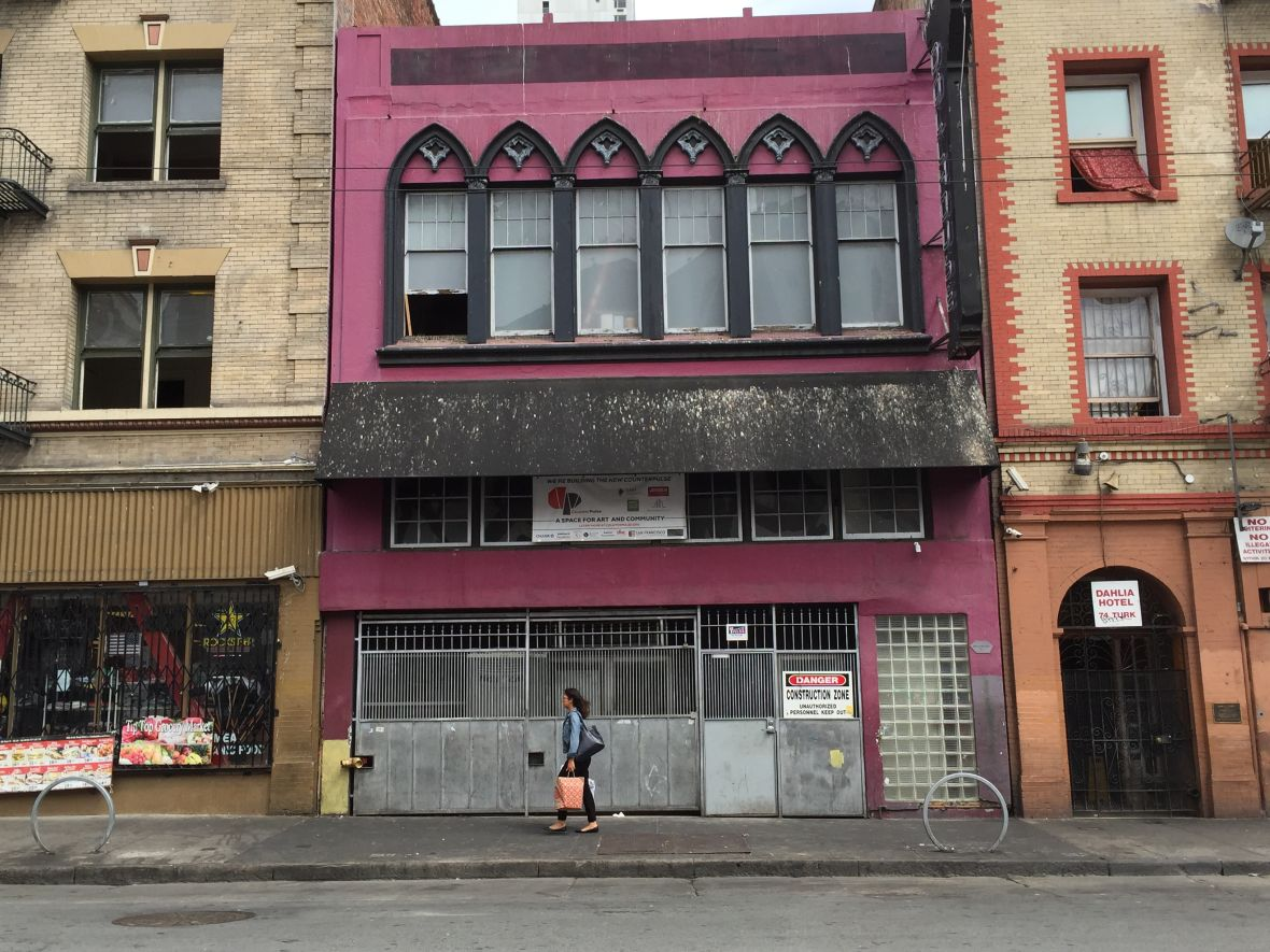 The Dollhouse at 80 Turk Street in San Francisco, soon to be Counterpulse's new home