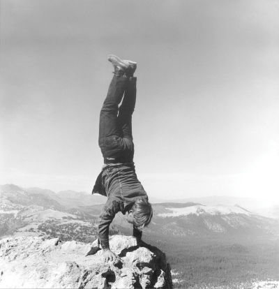 Robert Kinmont, '8 Natural Handstands' (detail), 1969/2005.