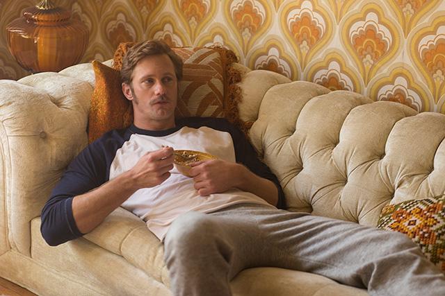 Alexander Skarsgård as Monroe. (Photo: Sam Emerson/Sony Pictures Classics)