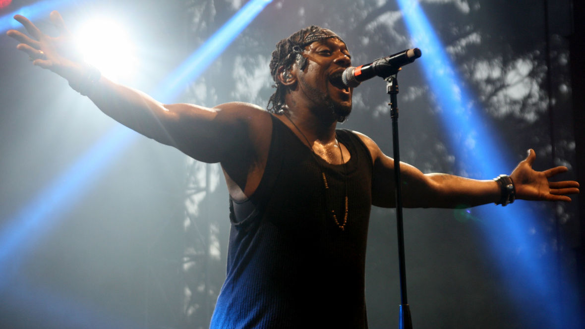 D'Angelo performs at the Outside Lands Festival, Aug. 7, 2015. (Photo: Gabe Meline/KQED)