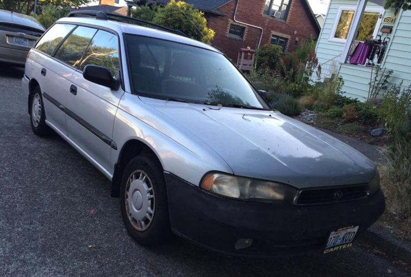 The silver Subaru of yore.