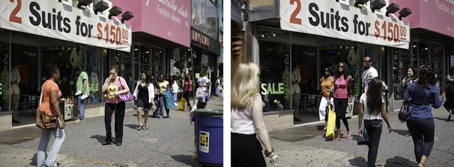 Paul Graham, '34th Street, 4th June 2010, 3.12.58 pm' from the series 'The Present,' 2010. (Photo: Pace and Pace/MacGill Gallery, New York)