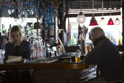 Jena Malone (Maggie) and Richard Gere (George) in Oren Moverman's 'Time Out Of Mind.'