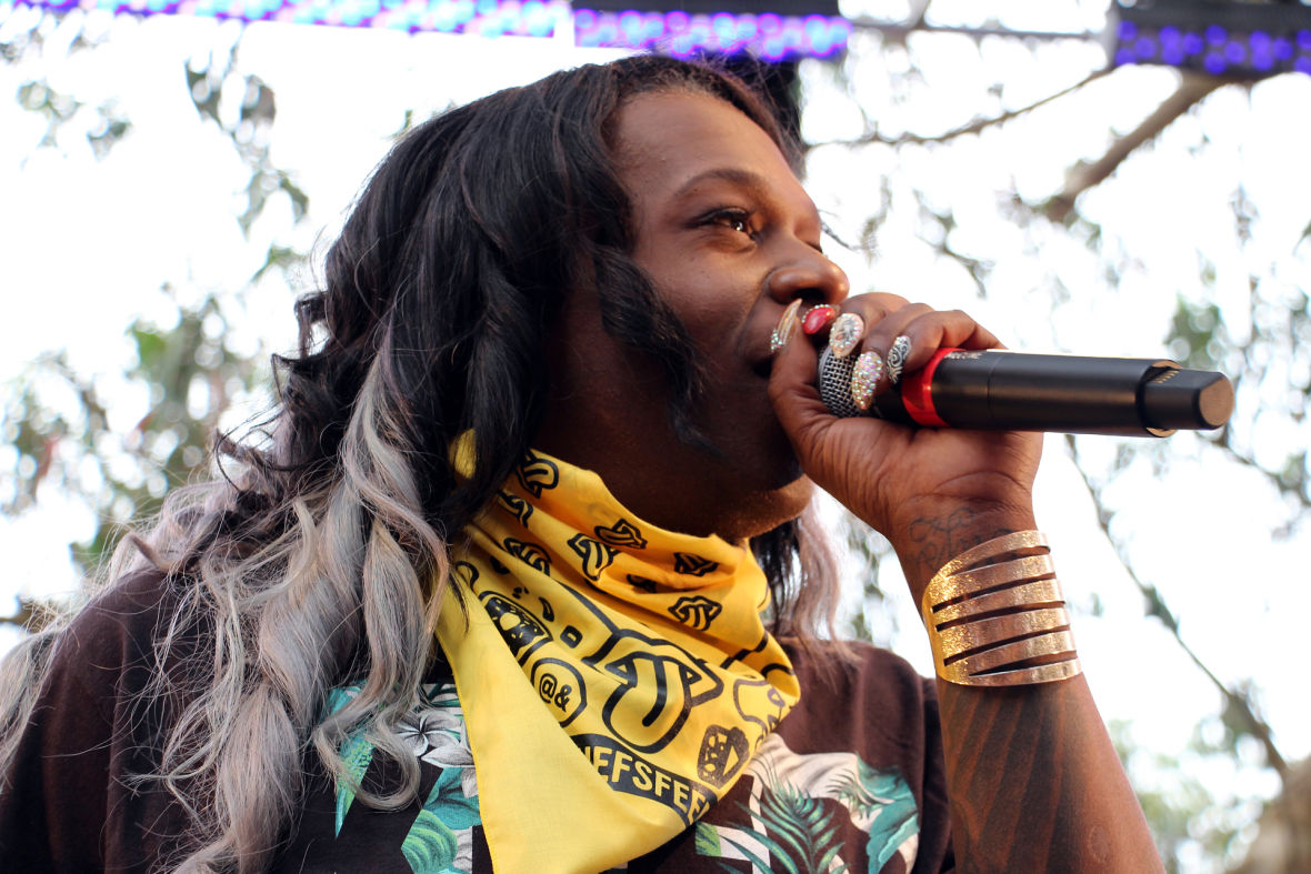 Big Freedia at GastroMagic at Outside Lands. Photo: Wendy Goodfriend