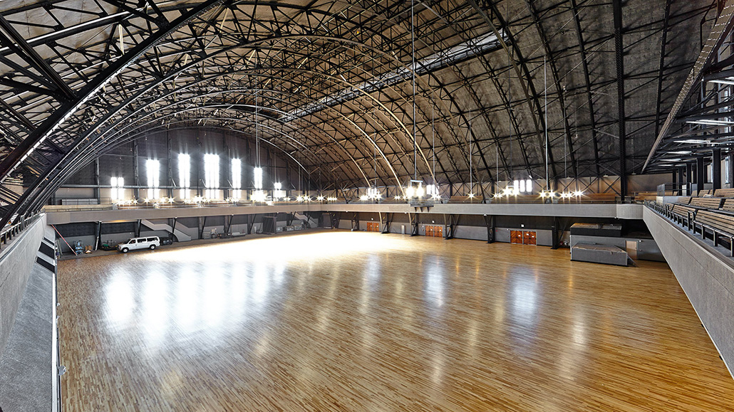 Drill Court, the new 4,000-person venue inside the Kink.com Armory