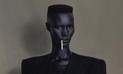 Grace Jones performs at the Fox Theater Sept. 26.