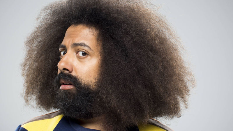 "Reggie Watts calls his form of entertainment ""disinformationist."" He disorients his audience, sometimes talking non-sense and switching seamlessly between accents — all improvised on the spot."