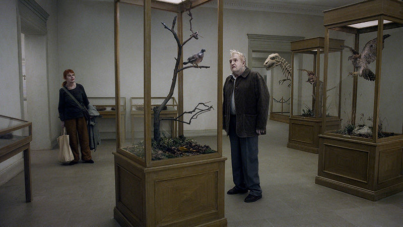 Per Bergqvist and Solveig Andersson in 'A Pigeon Sat on a Branch Reflecting on Existence.' (Photo: Magnolia Pictures)