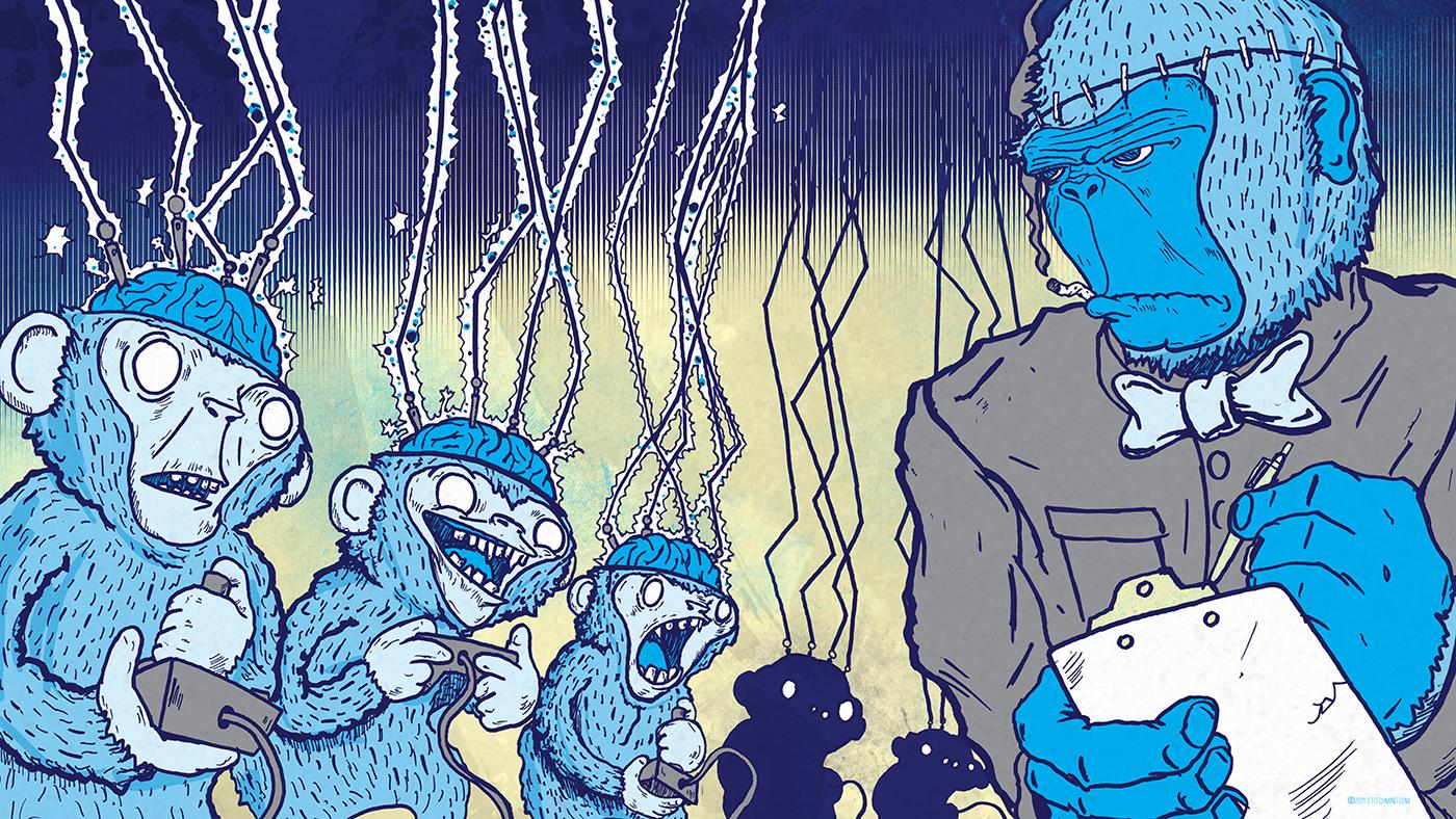 Illustration by Andrew Yang. (Courtesy of Alternative Press Expo)