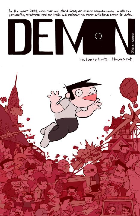 Demon by Jason Shiga