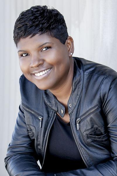 Stand-up Oakland comedian Karinda Dobbins.