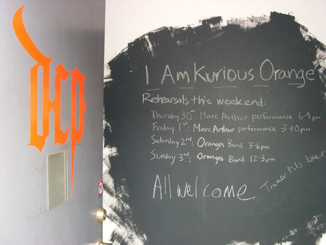 'I Am Kurious Orange' at David Cunningham Projects, 2009. (Photo: David Cunningham Projects)