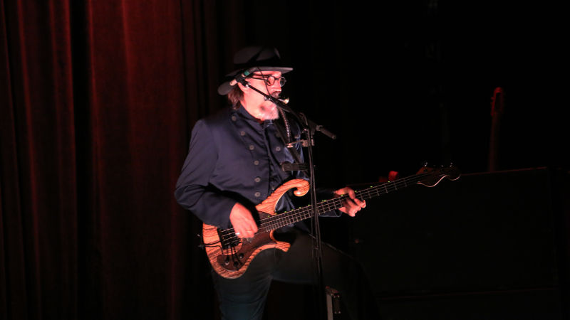 """When I arrived at the venue, I was asked """"You here to speak to the Colonel?"""" It appears Claypool takes that title seriously"""