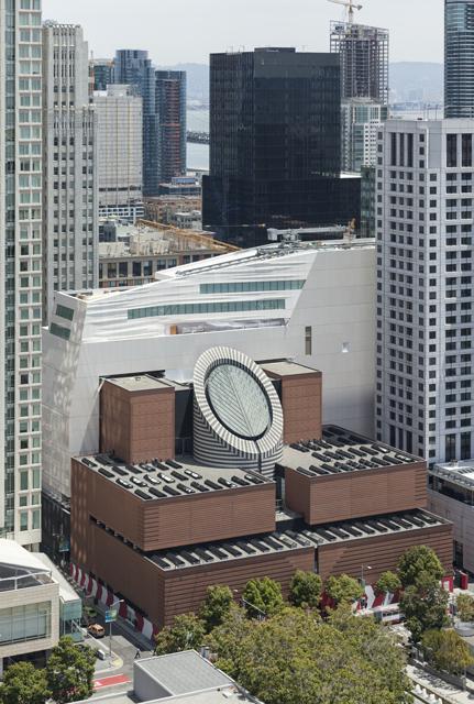 SFMOMA, Snøhetta expansion and Mario Botta building.