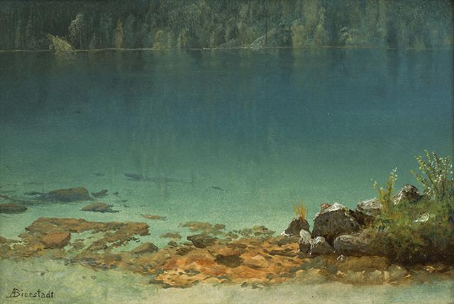 Albert Bierstadt, 'Emerald Bay, Lake Tahoe,' circa 1871. Private Collection.