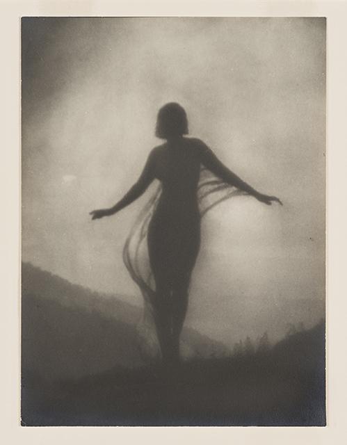 Anne Brigman, 'The Breeze,' circa 1910. Collection of Santa Barbara Museum of Art.